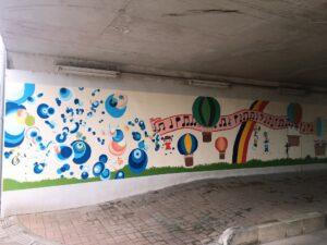 4号線下の壁画