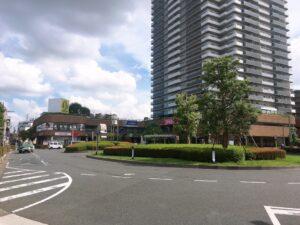 谷塚駅東口ロータリー