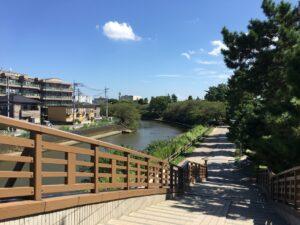 矢立橋からの眺め